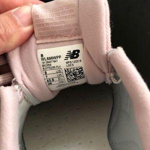 New Balance Shoes - New Balance 696 Women's light pink suede